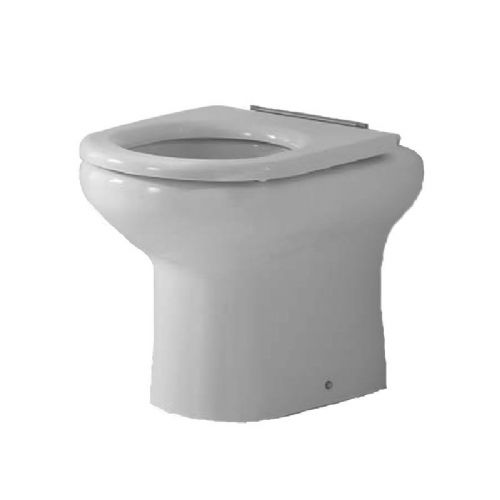 H&L Rimless Flush 450mm High Back-to-Wall Floorstanding WC Pan